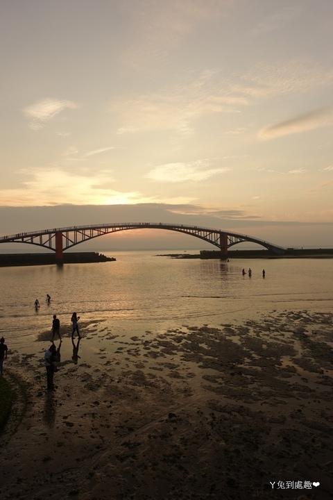 彩虹橋看夕陽