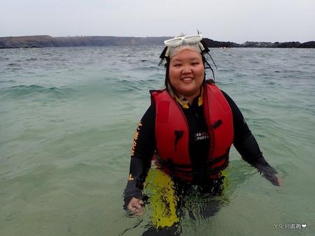 涵吉在澎湖玩