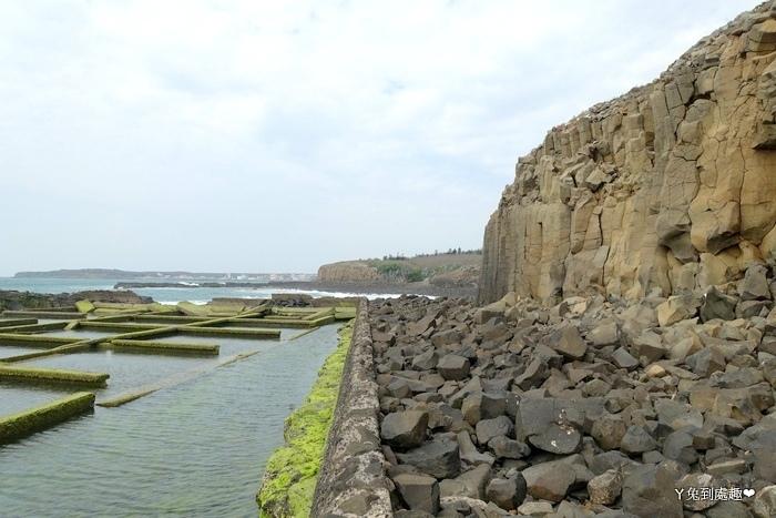 池西岩瀑(九孔瀑布/玄武岩)