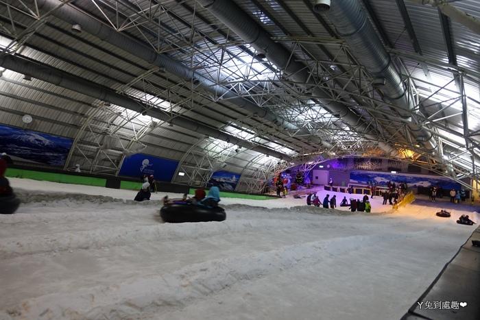 小叮噹室內滑雪場 滑雪道