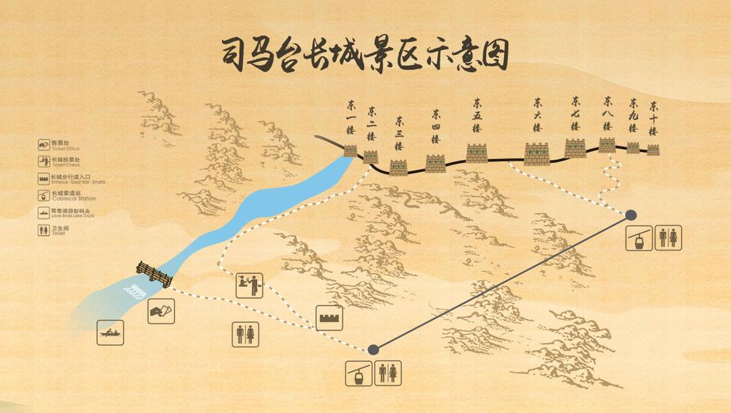 司馬台長城景區