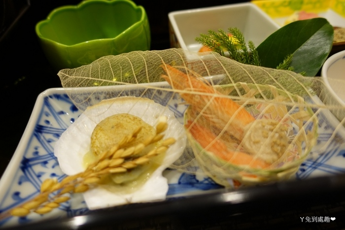 扇貝與蝦子
