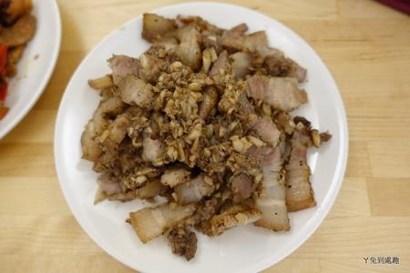 蒜香鹹豬肉