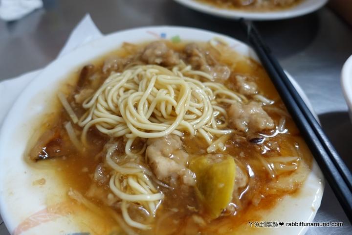 香菇肉羹麵