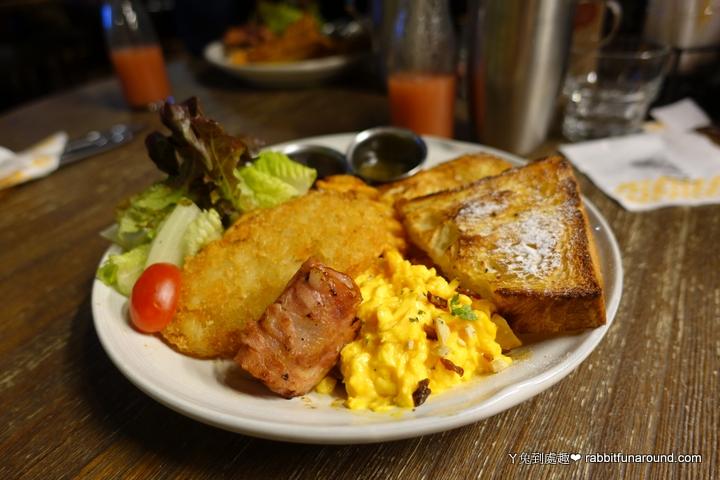 橙香蛋煎丹麥早午餐