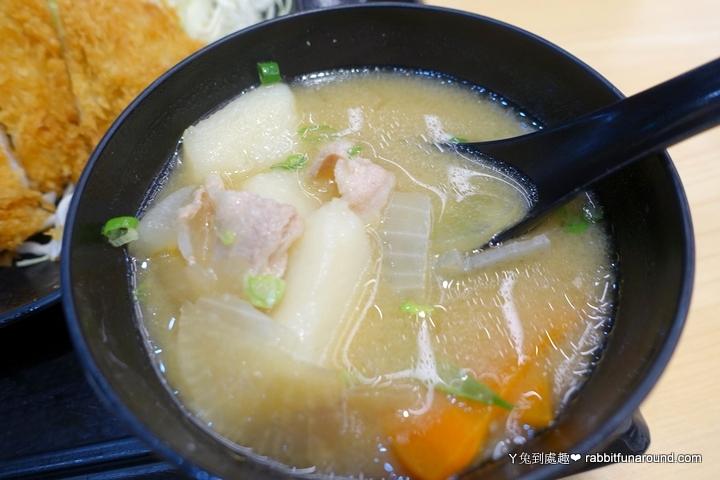 豬肉味噌湯