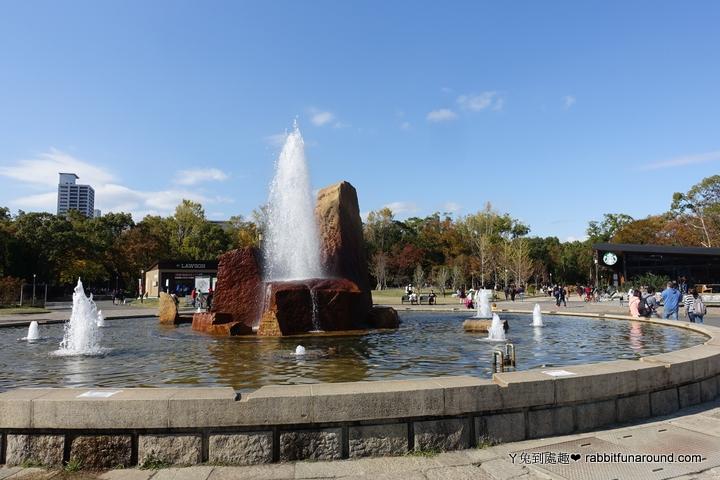 大阪城公園噴水池