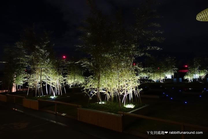 京都車站晚上