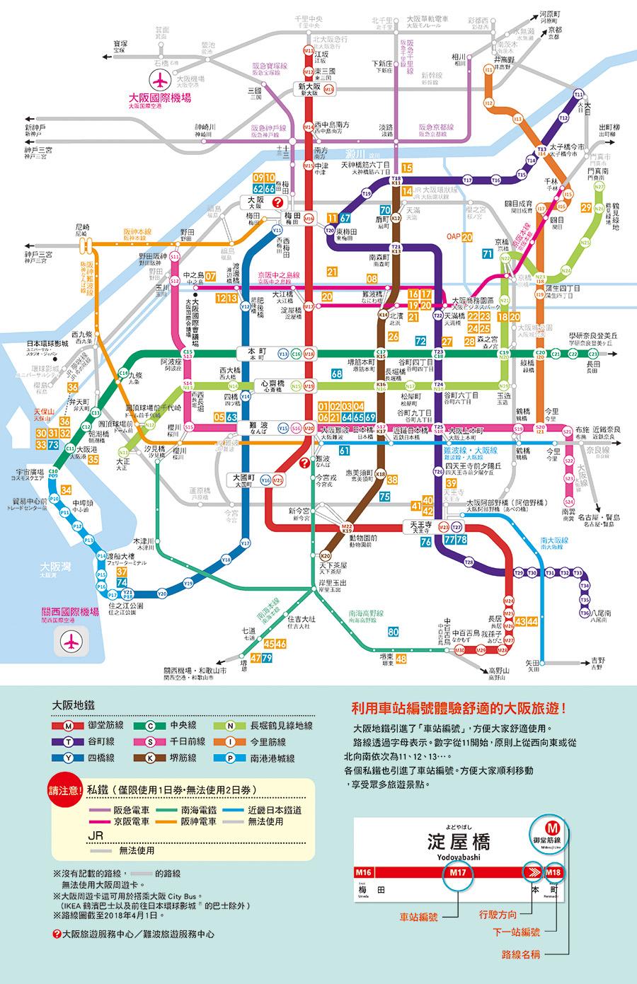 大阪周遊卡1日券